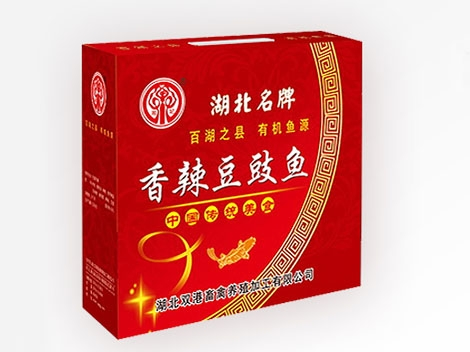 荆州Xiang Fei spicy Dou drum fish